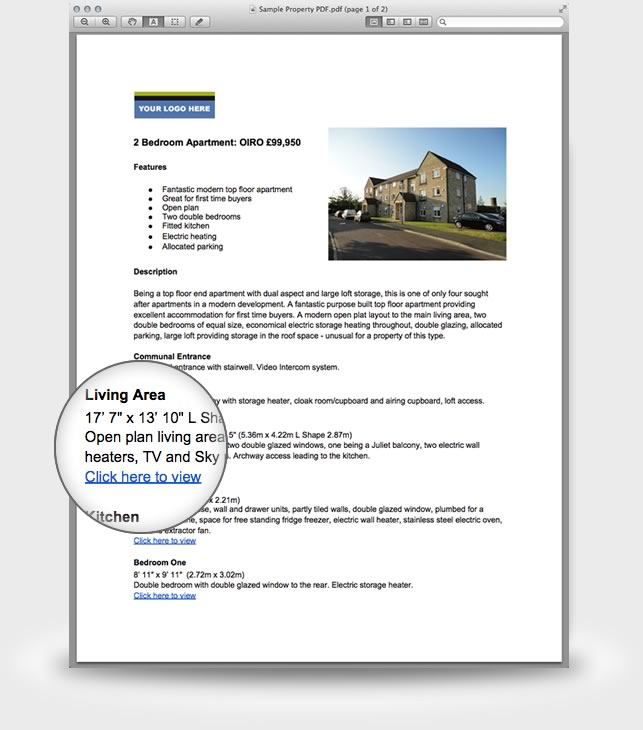 Sample Property PDF Brochure